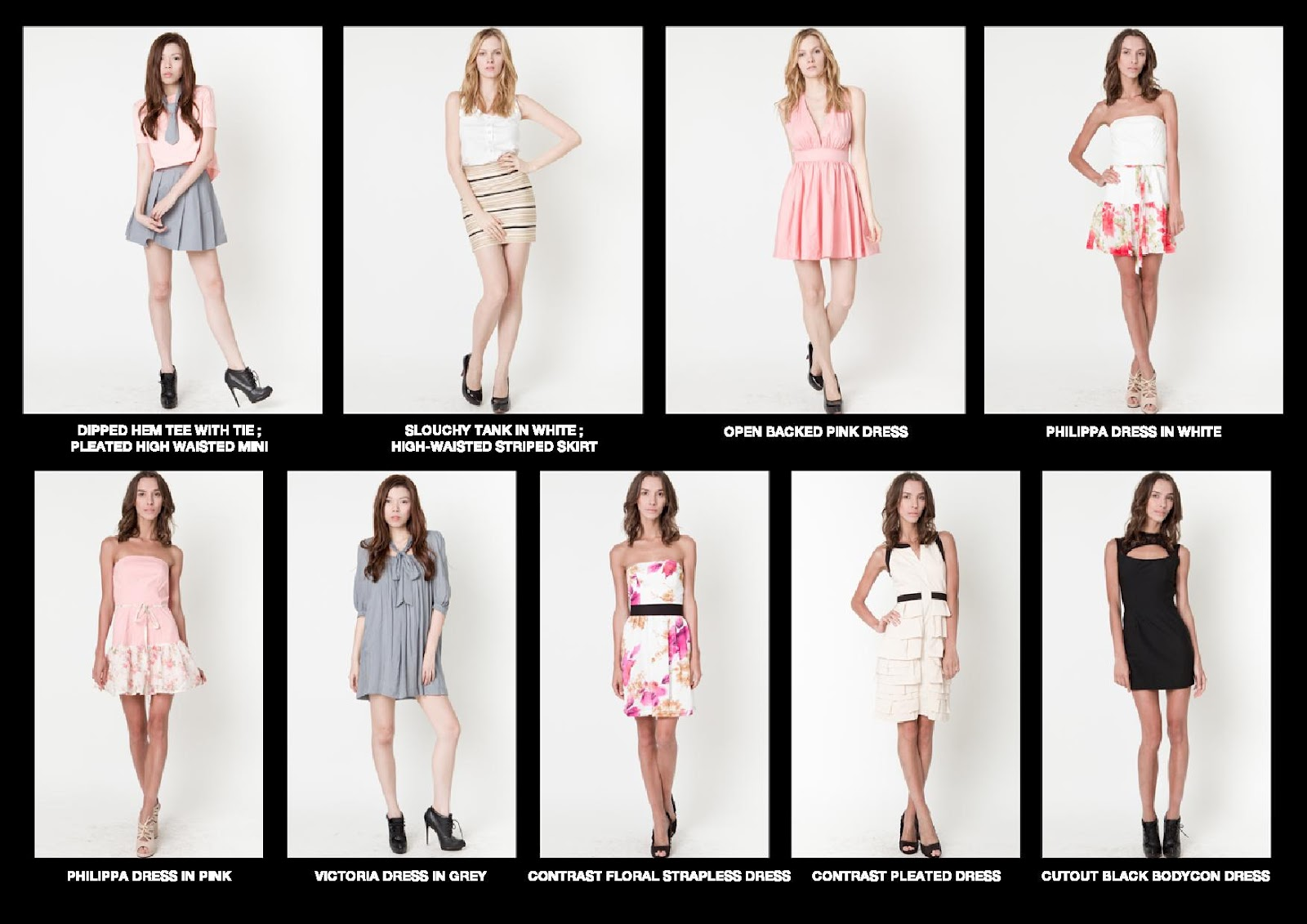 Fashion Line Sheet Template. 2015 line sheets strawberry blonde ...