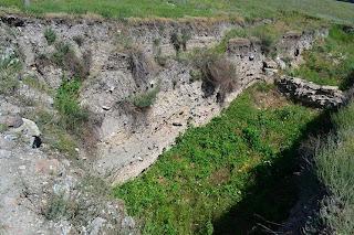 Cetatea Noviodunum (Tulcea)- latura estica