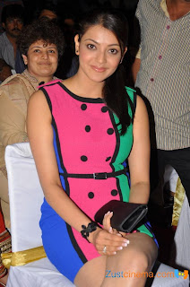 Kajal Aggarwal in very short Dress Spicy Thighs at Endukante Premanta Audio Launch