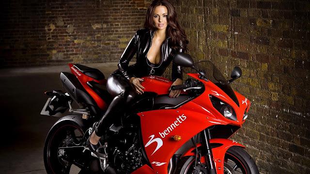 Sexy Girls, Bikes, Wallpapers HD, tapandaola111