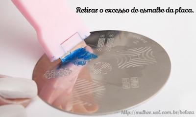 Nail art: Estampas de porcelana portuguesa