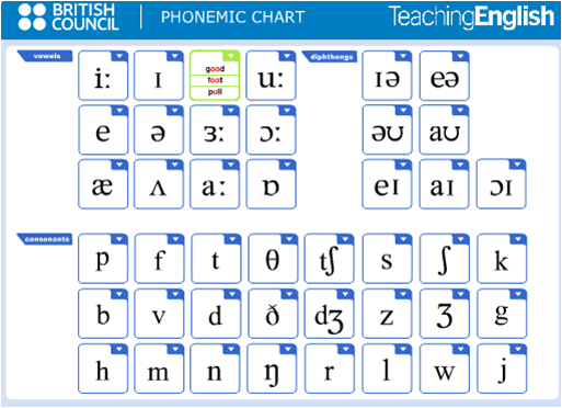 Links for Students: Pronunciation - IPA charts