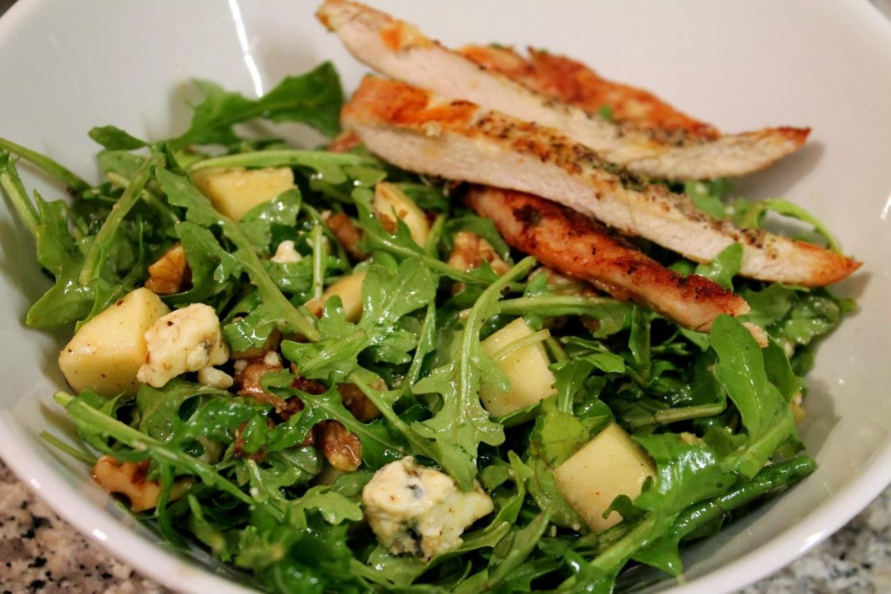 Smoky winter salad