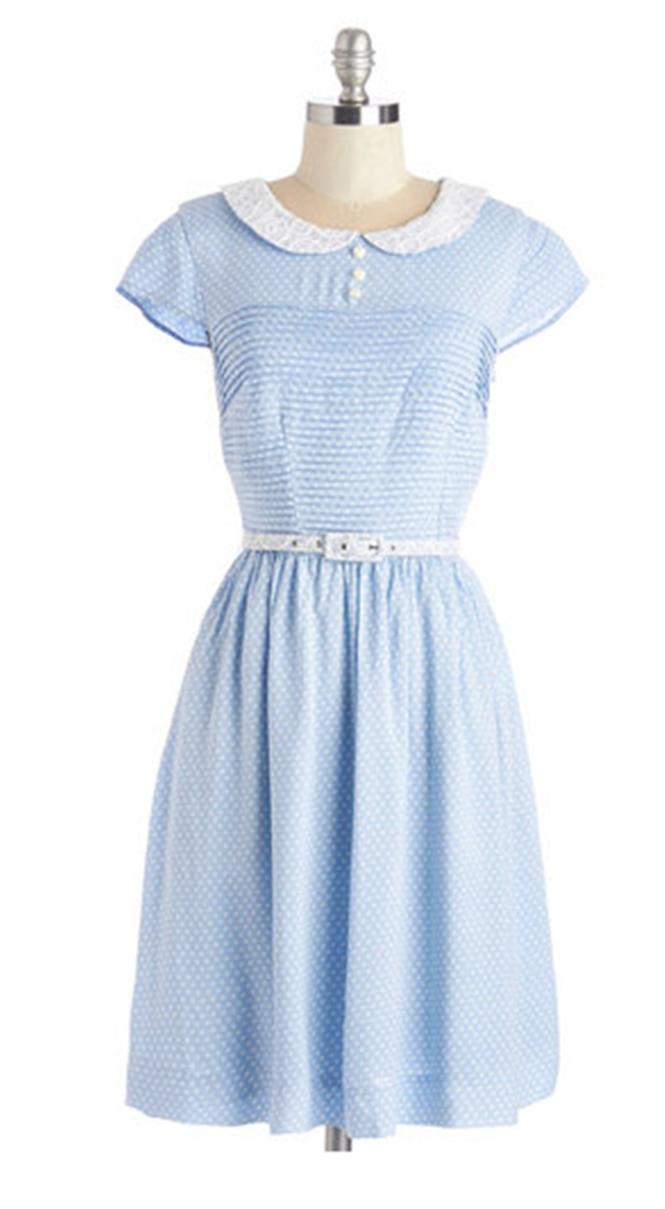 peter pan collar dress from modcloth