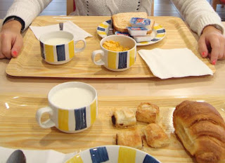 Desayuno Holiday Inn Express Girona