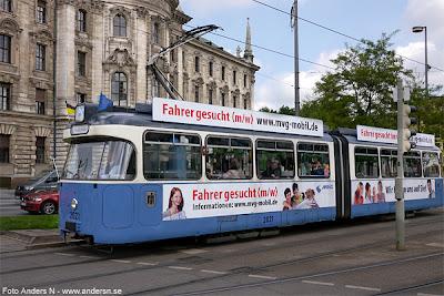 spårvagn, strassenbahn, tram, germany, deutschland, tyskland, münchen, munich