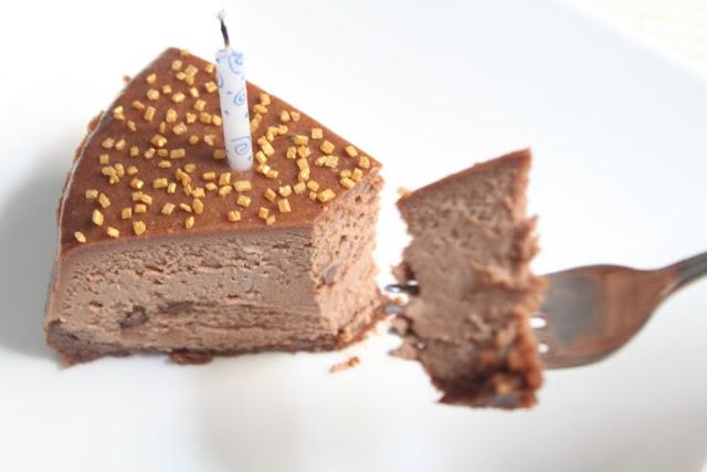 NY Cheesecake de chocolate - El dulce mundo de Nerea