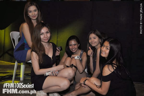 premiere vixens at fhm 100 sexiest victory party 2013