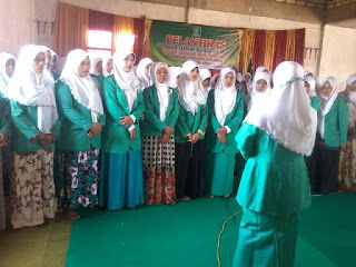 PAC. dan Ranting Fatayat NU se-Palengaan Dilantik
