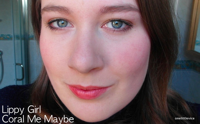 One Little Vice Beauty Blog: Vegan Lipstick summer shade