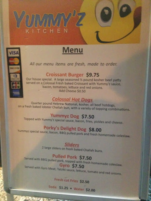Yummy'Z Kitchen - Menu