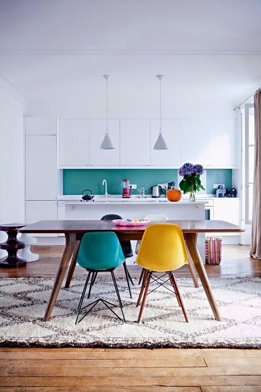 Ces tapis sintègrent merveilleusement bien dans les intérieurs scandinaves et vintages