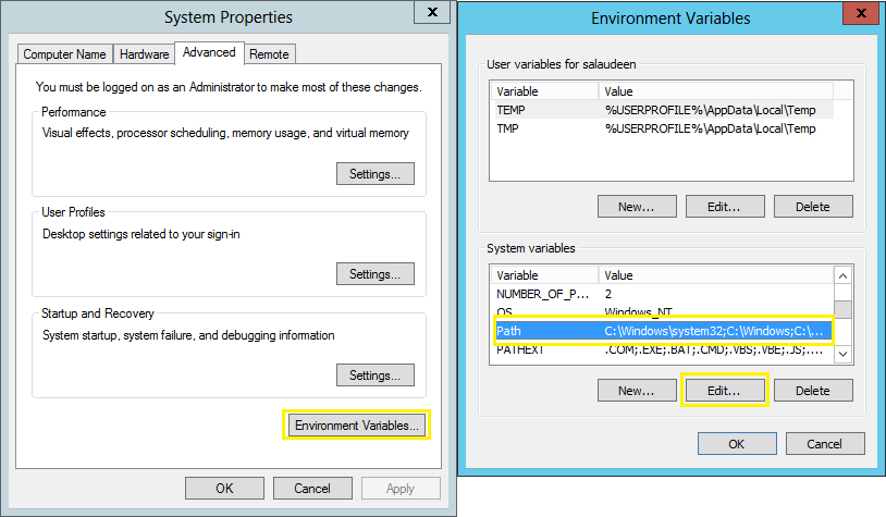 Add stsadm to Path Environment Variable