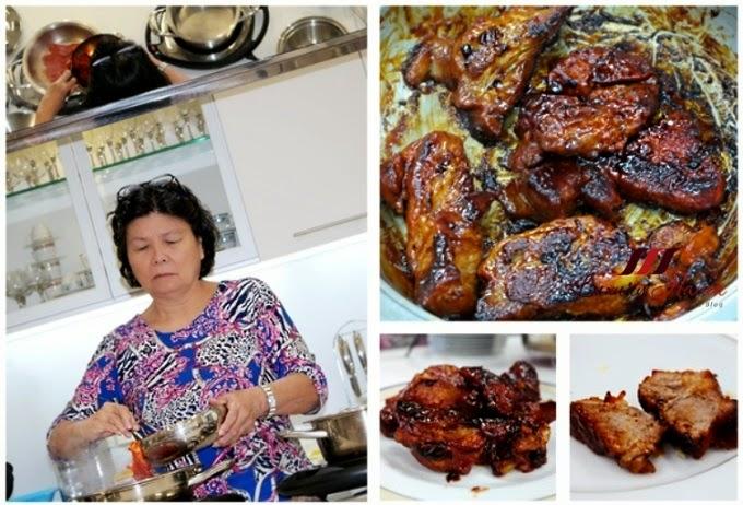 singapore amc premium system cooking demo char siew