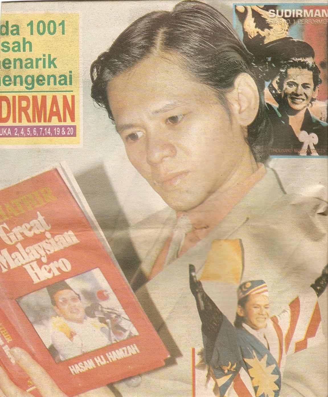 Tun Dr. Mahathir Sumber Inspirasi Sudirman
