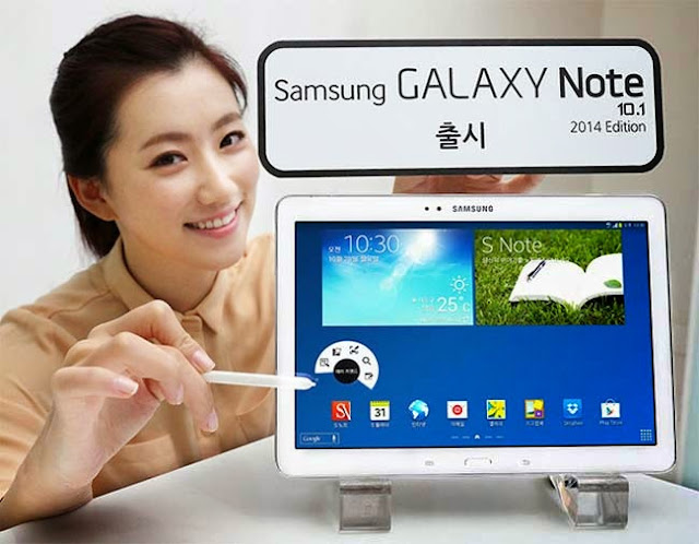 Samsung Galaxy Note 10.1 2014 available in the US and the UK