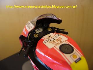 colección Altaya motocicletas de Valentino Rossi Ducati Desmosedici