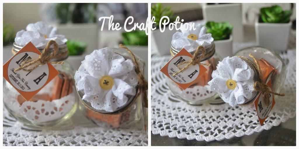 The craft potion doorgift kahwin murah promosi doorgift for Idea door gift kahwin 2013