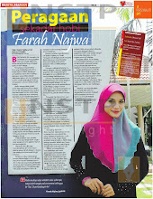 Cover Story in Berita Harian newspaper