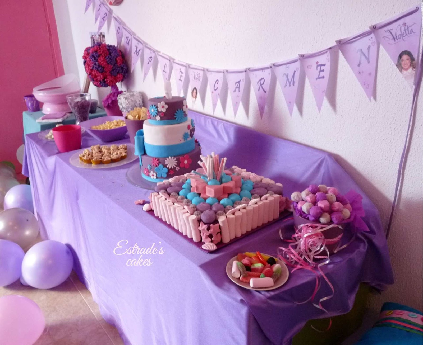 mesa dulce Violetta - 2