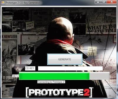 Prototype 2 Game CD KEY  KEY GENERATOR