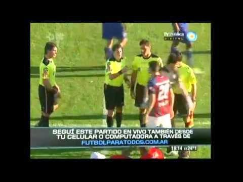 arbitro ammonizione più veloce storia calcio san lorenzo capitano boca juniors argentina