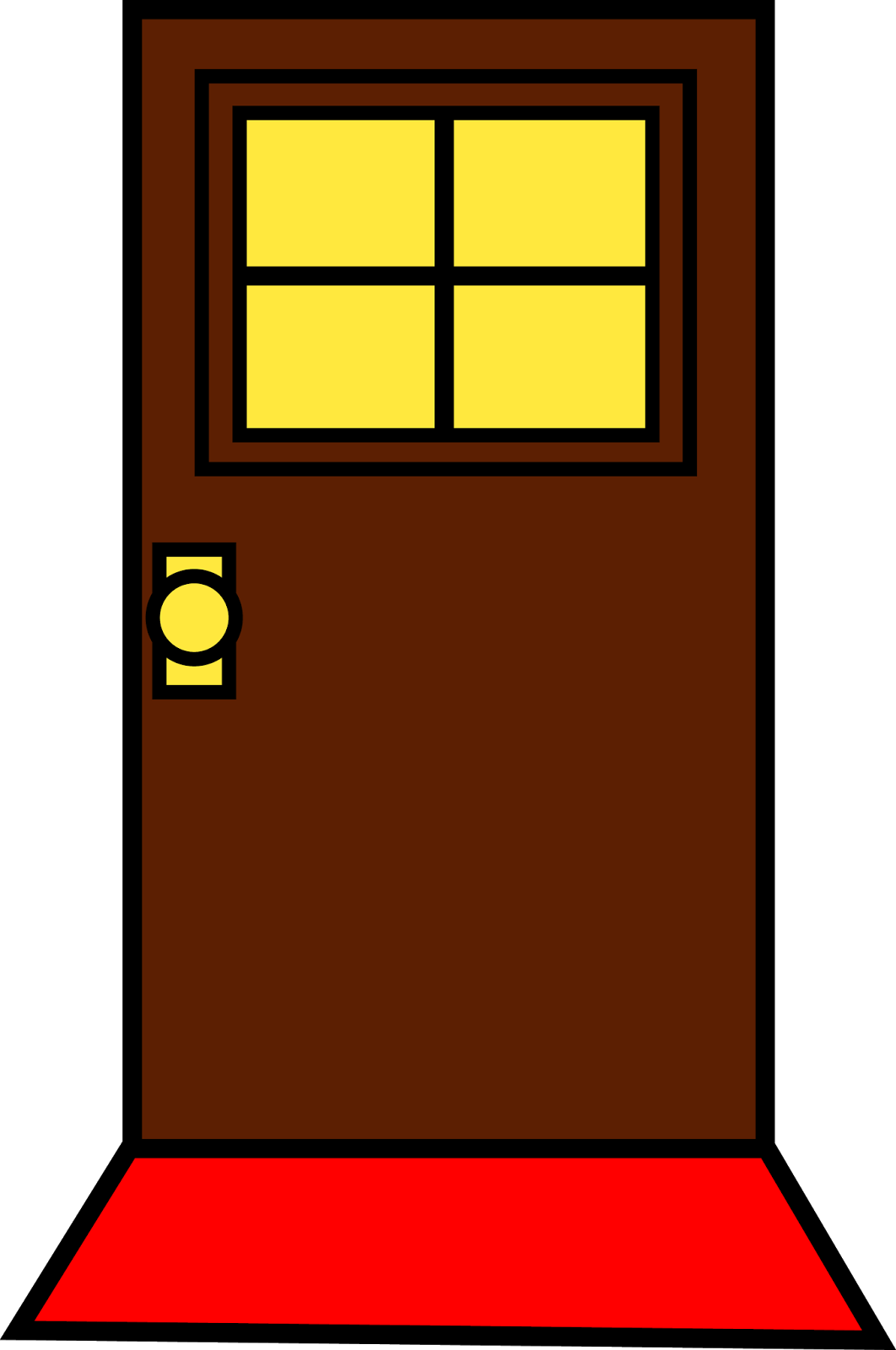 Closed Door Drawing simple door drawing