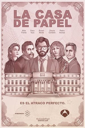 Série La casa de papel - 1ª Temporada 2018 Torrent