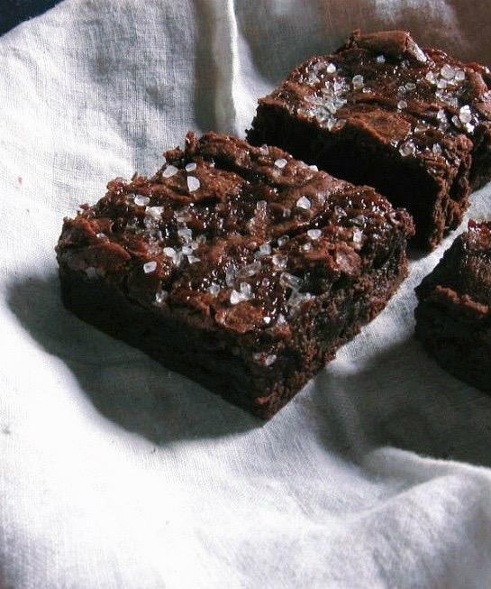 sweet & salty brownies | une gamine dans la cuisine
