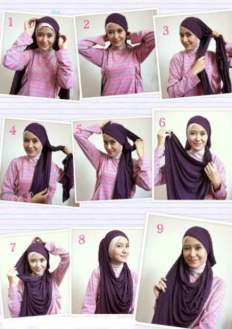 Cara Memakai Jilbab Baik dan Benar Beserta Gambar Terbaru 2014
