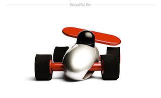 auto de carreras de juguete