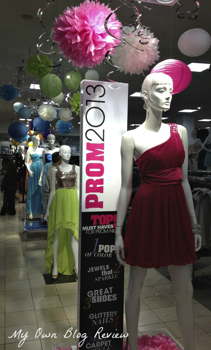 Macy's Prom Fashion Show with Mandi Line, Action Item and My Prom ...