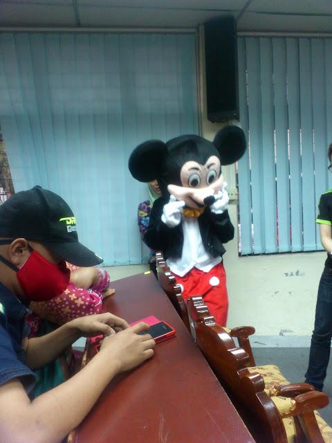 """Mickey Mouse di BP WISHING TREE 2015 """"MAKE LIFE SWEETER"""""""