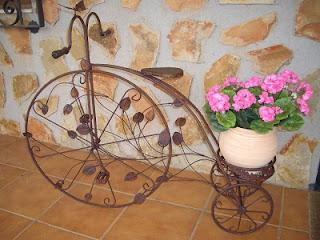 Recicla decora fusiona bicicletas ecol gicas - Bicicleta macetero ...