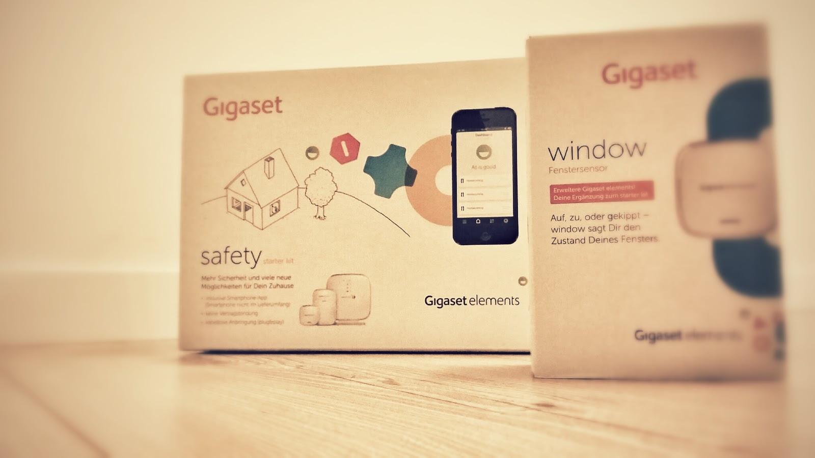 Hausinformationssystem Gigaset elements Smart Home