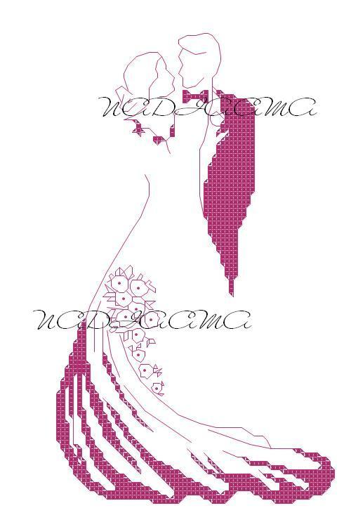 Camy di tutto un po 39 sposi stilizzati monocolore for Disegni sposi stilizzati