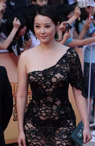 In see through clothes at huabiao film awards see through look has