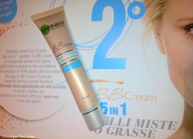 bb cream garnier pelli miste e o grasse perfezionatore di pelle supermercato prezzo euro no pelle lucida chiara media colorazione