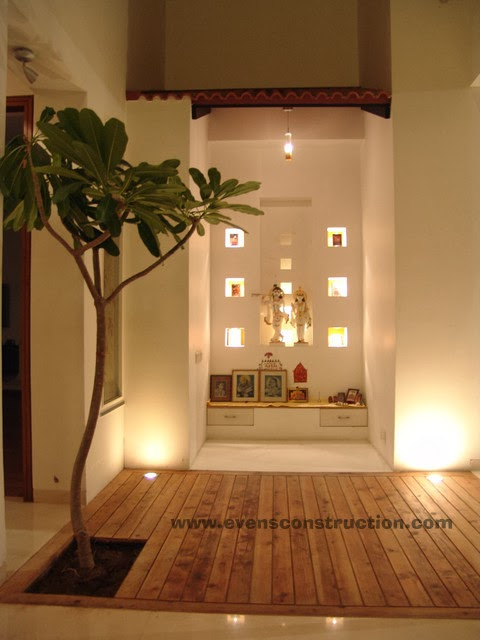 evens construction pvt ltd puja room and vasthu With pooja room designs for home
