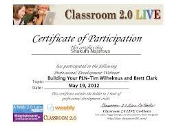Classroom 2.0 Webinar