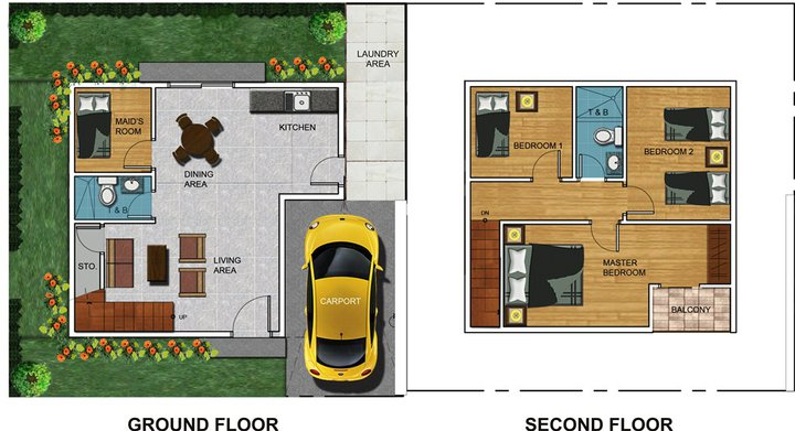 Residential house and lot for sale in cebu city for Small house design 100 sqm