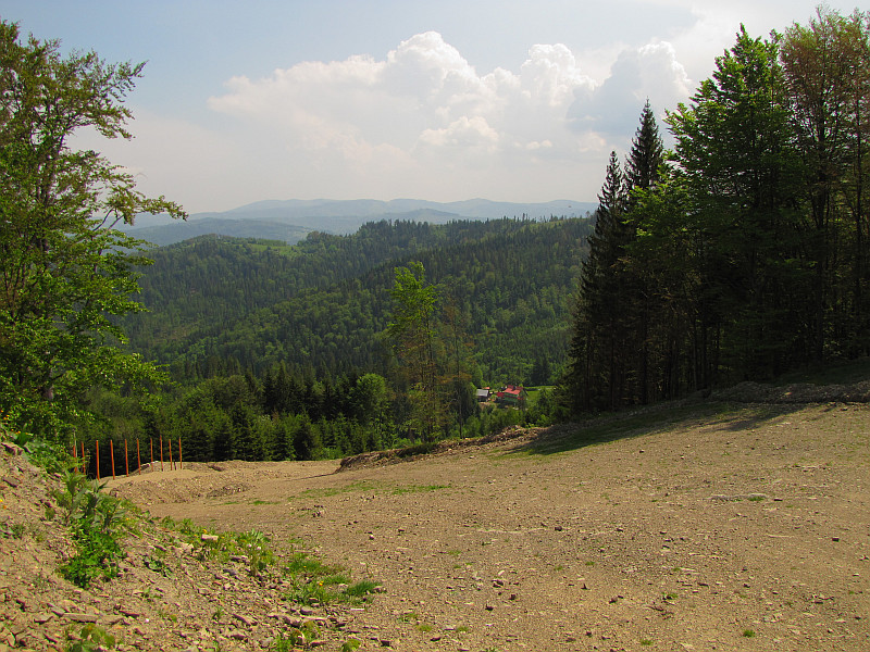 Trasa narciarska Soszów.