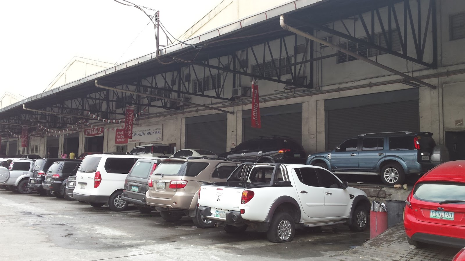 Ps bank warehouse in libis quezon city