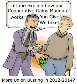 Another 'gift' for working families in BC by the BC Christy Clark Liberals