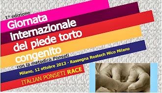 SPECIALE GIORNATA INTERNAZIONALE DEL PIEDE TORTO  2013