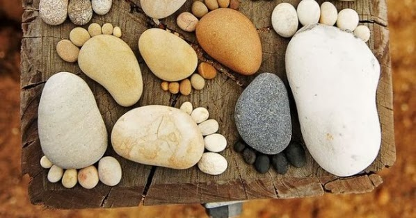 Home made diy2 easy garden diy projects with stones for Diy projects with rocks
