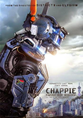 Chappie (BRRip 1080p Dual Latino / Inglés) (2015)