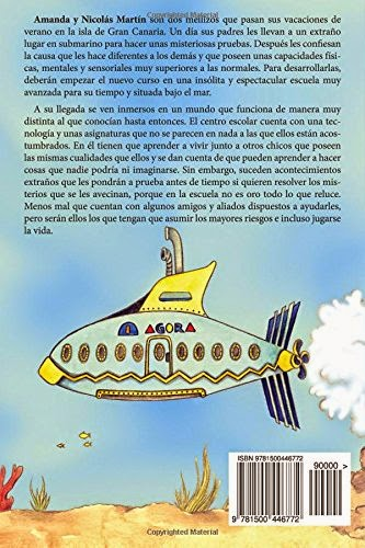 contraportada libro el misterio de la escuela submarina