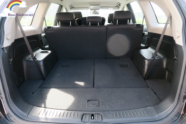 Chevrolet Captiva luggage space