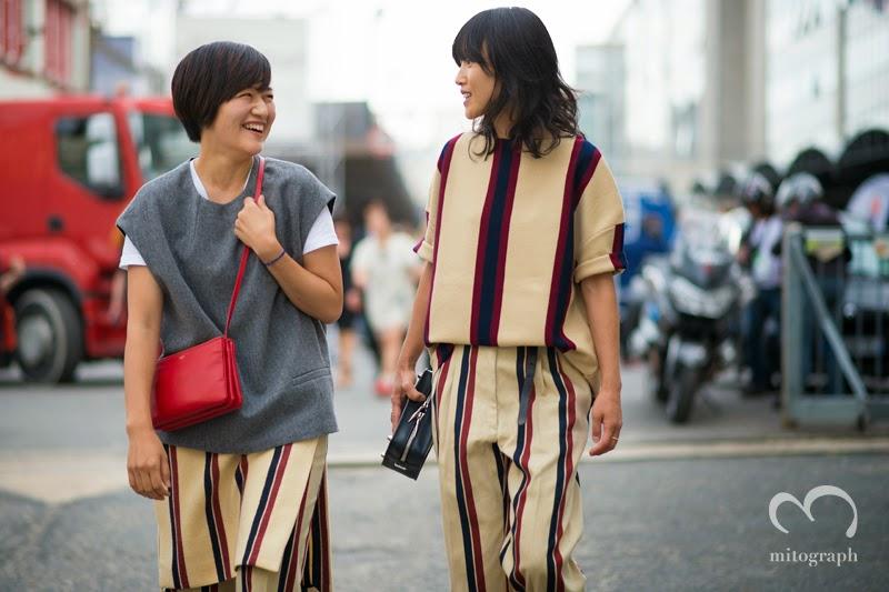 mitograph Kaori Watanabe and Miyuki Uesugi After Dries Van Noten Paris Fashion Week 2014 Spring Summer PFW Street Style Shimpei Mito